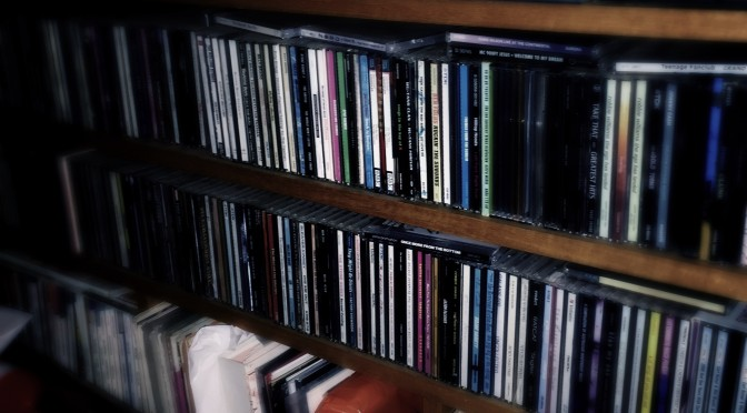 My CD and Record Shelf